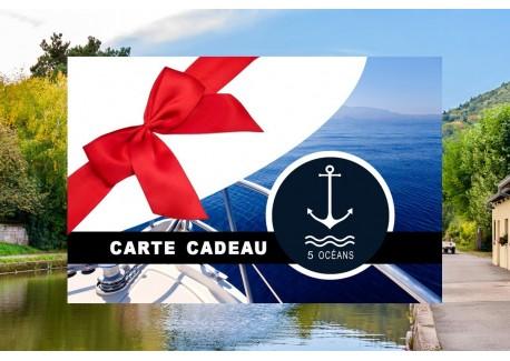 Permis fluvial - Carte cadeau à imprimer 250€ (Au lieu de 350€, Promo jusqu'au 30/11)