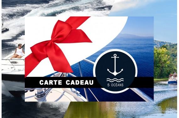 Carte cadeau permis côtier et fluvial